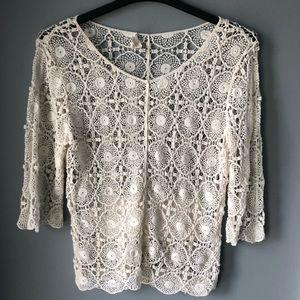 Adiva Crochet Top